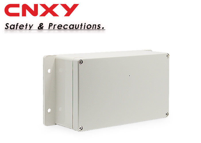 Pale Gray Cable Connection Box , Weatherproof Plastic Electrical Enclosures