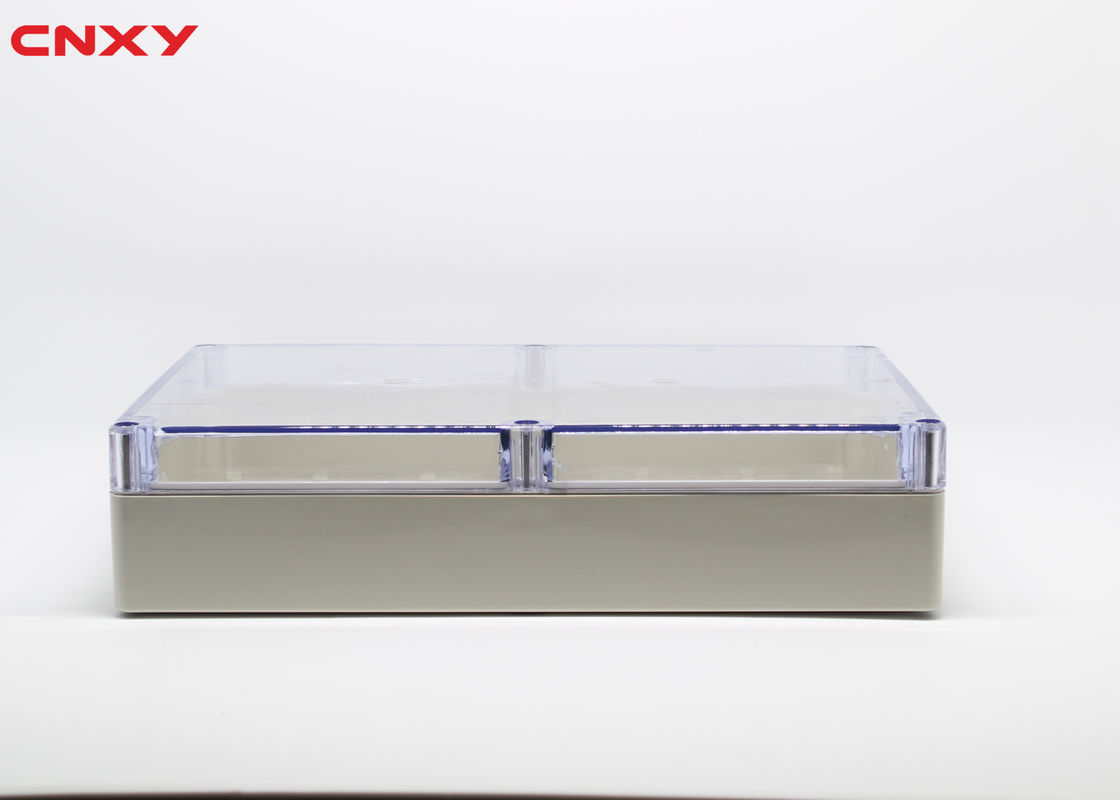 Water-resistant ABS electrical box plastic junction box clear waterproof box 263*182*60 mm