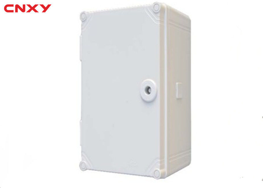 Hardness Plastic Hinged Box Horizontal / Vertical Opening Easy Installation