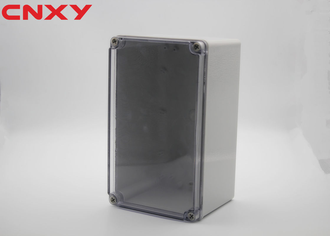 Water-resistant IP67 ABS electrical project box waterproof junction box clear waterproof enclosure 250*150*130mm